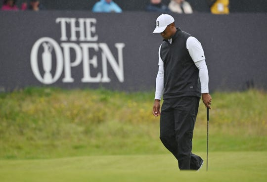 Tiger Woods had a rough week at Royal Portrush.