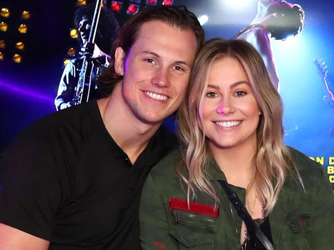 Shawn Johnson, Andrew East reveal genetic test results after pregnancy complications