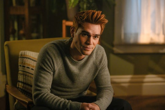 "Archie Andrews (KJ Apa) will be dealing with the loss of his father this season on ""Riverdale,"" as well as starting a band and playing football."