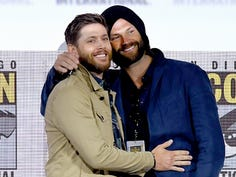 'Supernatural' stars tear up at their final Comic-Con: 'It's been quite a ride'
