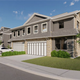 A rendering of the townhouses proposed for the Ocean Town Center.