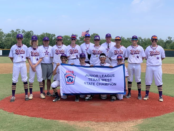 The Wylie Junior League All-Stars won the Texas West state championship on Monday, July 22, 2019. Wylie defeated Corpus Christi Oil Belt 7-1 and will play in the Southwest Regional on Aug. 3-7 in Albuquerque, N.M.