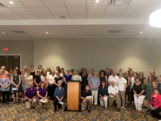 A total of 36 local non-profits received financial support from the Tioga Downs Community Foundation on July 19, 2019.