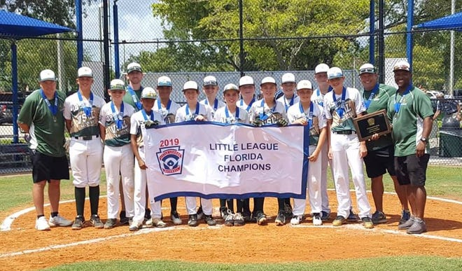 Viera Majors Little League All-Stars win state title and now head to regionals.