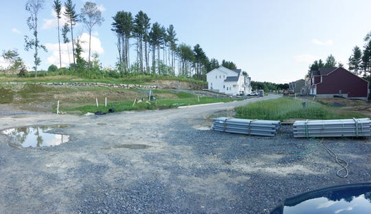 New housing being built behind South Burlington's Kennedy Drive
