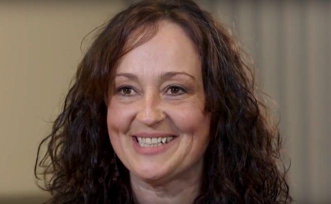 Hilary Denton, peer recovery coach.