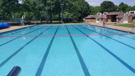 Walter E. Ulrich Memorial Pool in Rahway.