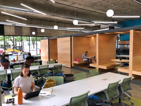 Gravitate Coworking has more than tripled its rentable space at 500 Locust St.