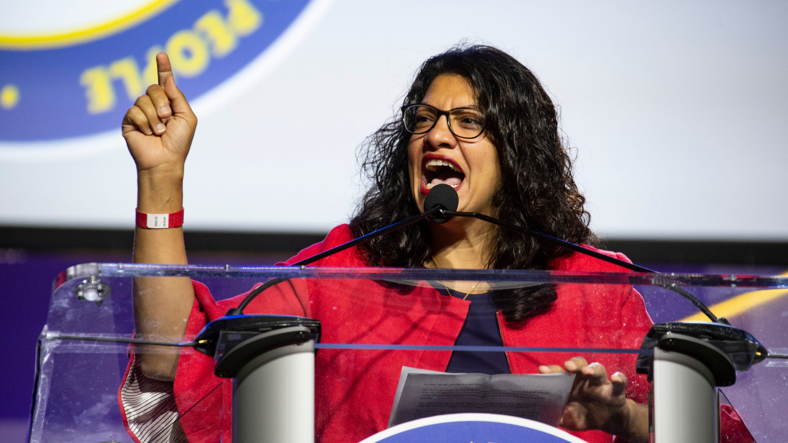 Tlaib: 'I'm not going nowhere, not until I impeach' Trump