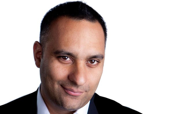 Russell Peters will perform Sept. 14 at the Fox Theatre
