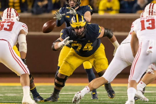 "Ben Bredeson is part of a veteran offensive line that looks to be the ""heart and soul"" of Michigan."