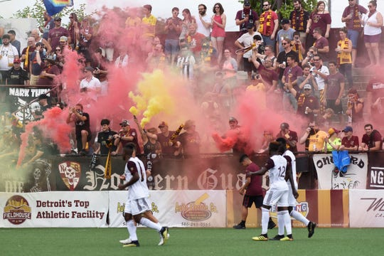 Detroit City FC will play Chattanooga FC, Napa Valley 1839 FC, New York Cosmos, Milwaukee Torrent and Michigan Stars the rebranded NPSL Members Cup, which starts Aug. 17.