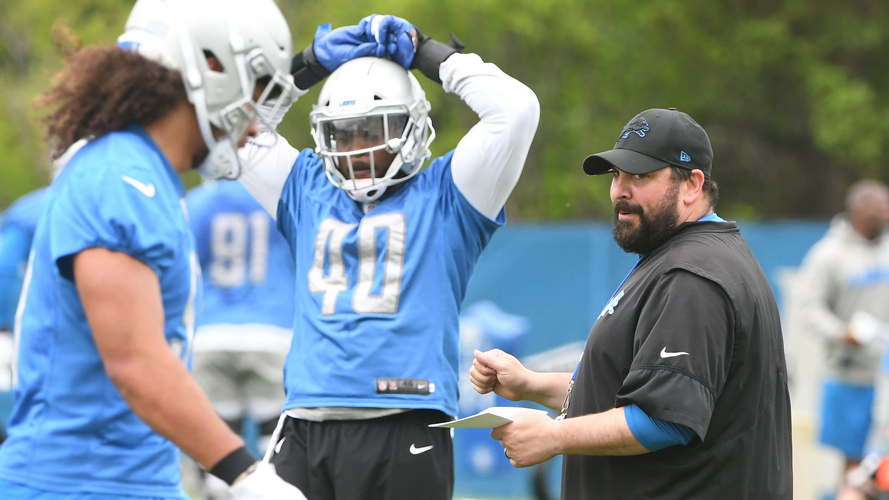 deea8314 An early projection of Detroit Lions' roster as training camp nears
