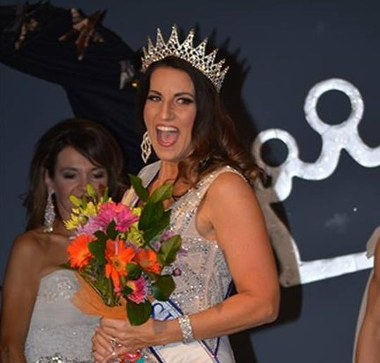 Kim Galske was crowned Mrs. Wisconsin on March 23, 2019.