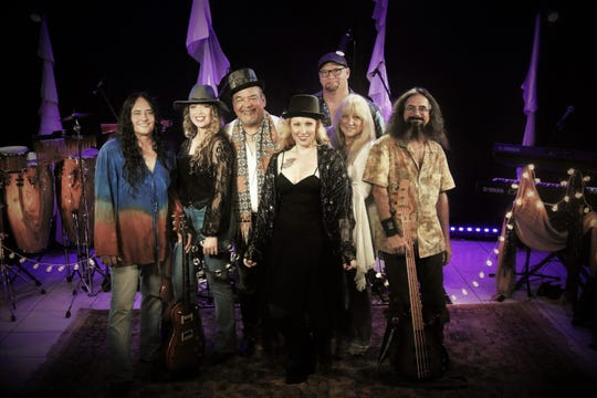 Local band NightBird pays tribute to the music of Stevie Nicks with lead singer Angela Chang.