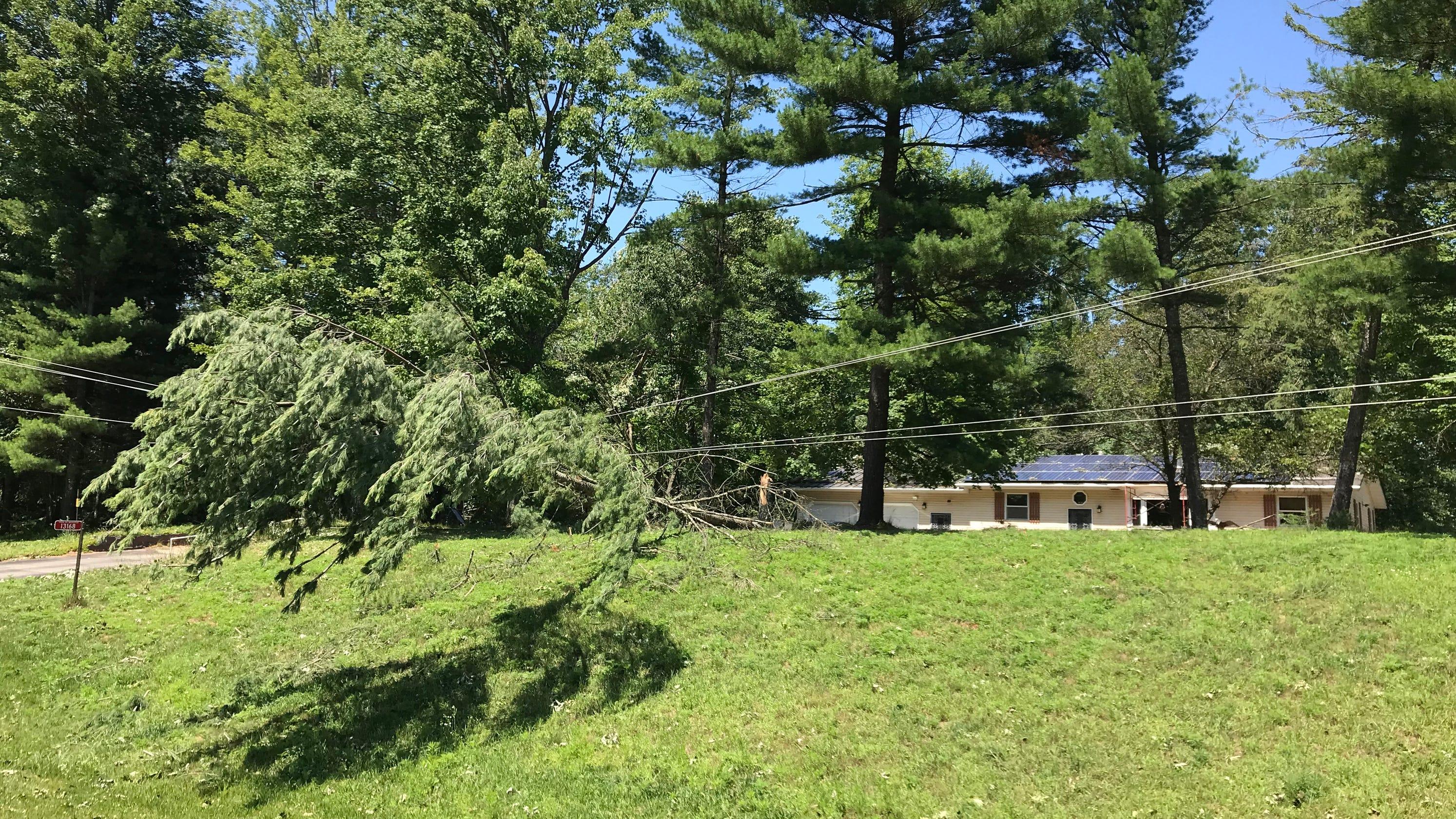 Wisconsin weather: Man dies clearing storm debris in Oconto