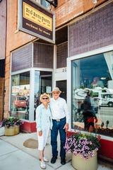 Alice and Ernie Bachler moved to White Sulphur Springs 34 years ago.  The Bachlers' volunteer work at the Festival allows them to meet people from all over the United States and other countries