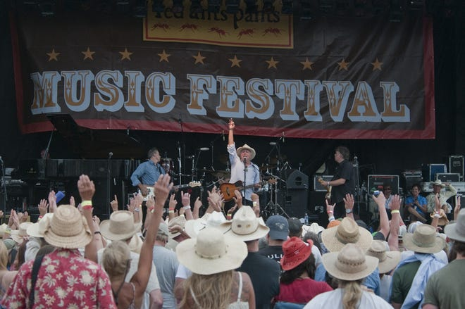 The Red Ants Pants music festival in White Sulphur Springs takes place the last week of July each year. Last year, 20,000 people attended the festival. It runs Thursday through Sunday this year.
