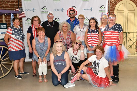 "The event committee for the Realtor Foundation's ""Feed the Fight"" party."