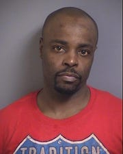 Lavail Anthony Drain, 40, faces a domestic abuse assault charge after police say he assaulted his partner in Iowa City on  July 19, 2019.