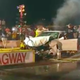 Alleged drunk driver speeds onto Jackson Dragway, narrowly missing race teams before crashing