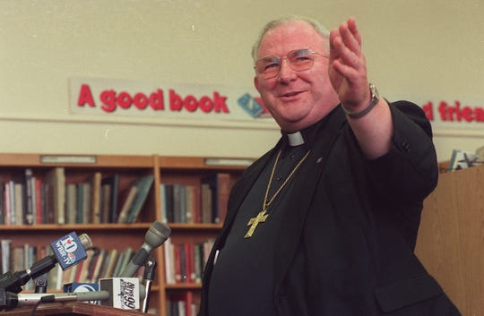 Bishop Anthony O'Connell in 1998.