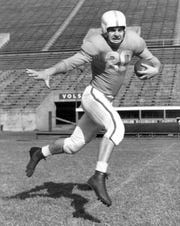 Vol great Bert Rechichar was an All-SEC pick in baseball and football in 1951.
