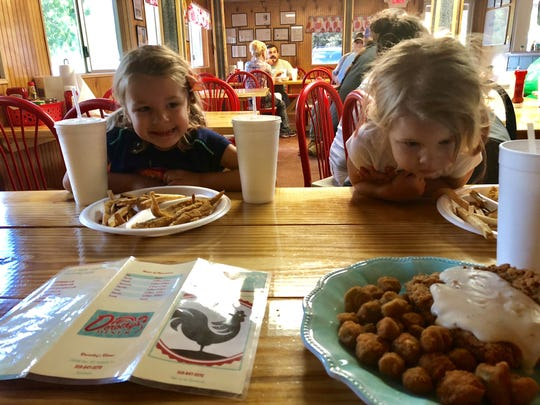 Reporter Leigh Guidry and family are exploring the state by taking the back roads along Louisiana Byways. This road trip took them to Sarepta, Vivian and Mooringsport along the Boom or Bust Byway. Their first stop Saturday was Dorothy's Diner in Sarepta, hometown of country music start Trace Adkins.
