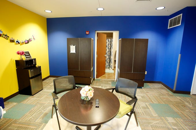 A converted active learning center on the seventh floor of Woodland Glen IV on the UK campus will house two students in the coming semester.