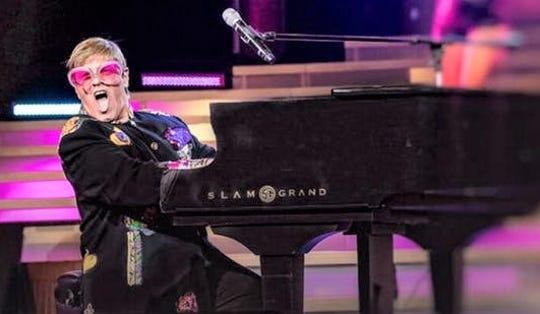 Even Stephen as Elton John.