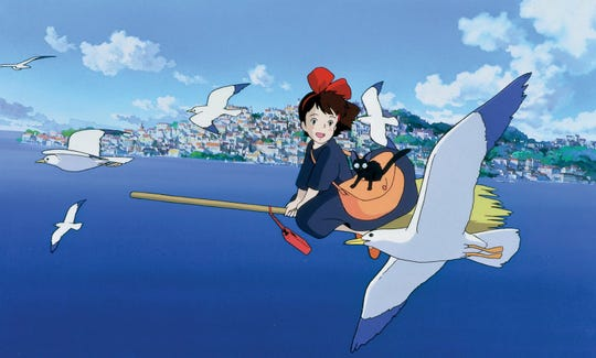 "The charming 1989 feature ""Kiki's Delivery Service"" screens Monday night at the Paradiso."