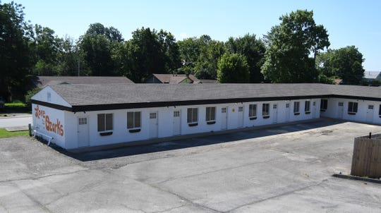 Mark and Kelsey Bertel recently purchased the Town and Country Motor Inn and have been rehabbing the shuttered motel into apartment units.