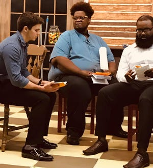 """Wetumpka Depot's """"Master Harold... and the Boys"""" features Michael Armstrong, La'Brandon Tyre and Deion Mallard. The production opens Aug. 1."""