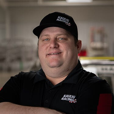 Nick Harrison, crew chief for Justin Haley, died Sunday.
