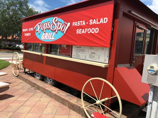 Pops Spot Grill at 11195 Airport-Pulling Road S., Naples will serve gyros, wraps, salads and more for $10 or less.