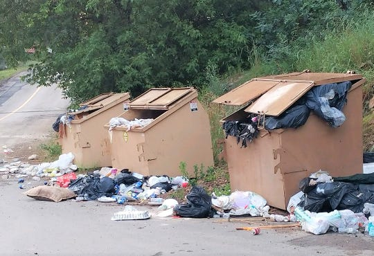Overflowing dumpsters creates havoc and concern in Upper Canyon. When the lids are not closed and latched, the dumpsters become a buffet for bears and other predators drawing them into populated areas.