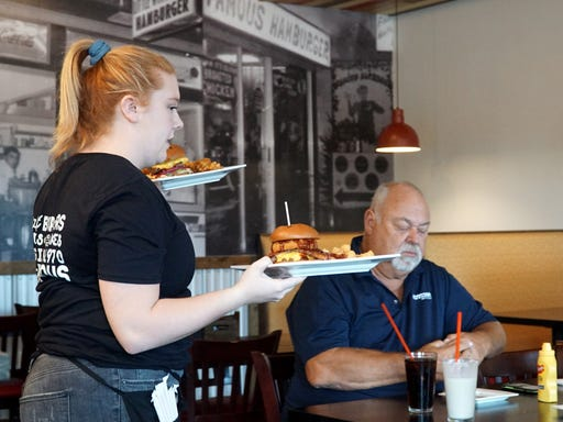 Famous Hamburger Opens Second Location In Canton
