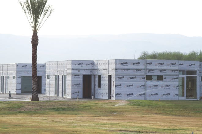Coachella is betting Hotel Indigo will bring tourists, taxes and jobs. But first, the hotel has to weather construction delays.