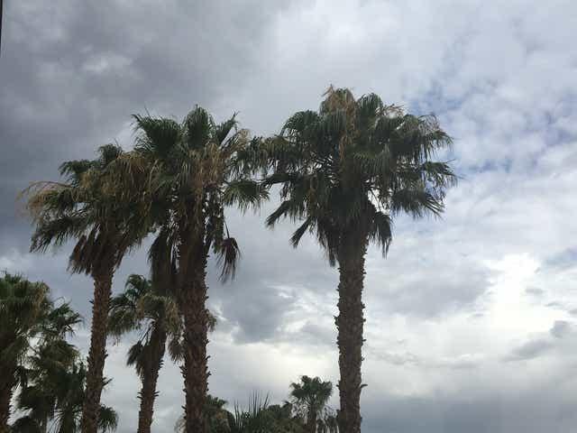 Thunder in the mountains: Rain falls near burn scar as wet ...