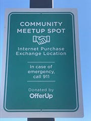 The Riverside County Sheriff's Department's Lake Elsinore Station began on July 22, 2019, to offer its public parking lot for use as a community meetup location, where individuals conducting internet purchase transactions can meet.