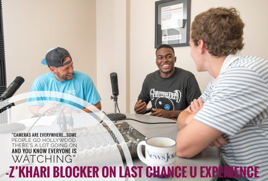 Z'Khari Blocker joined the Nice Guys Podcast to talk about his experience with Last Chance U while he played football at Independence Community College.