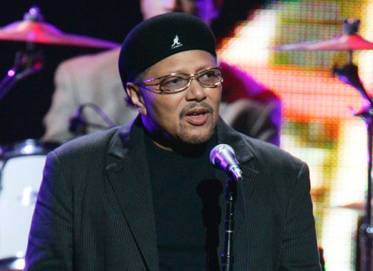 This Sept. 20, 2005, file photo shows singer Art Neville performing in New York. Neville has died at age 81. Neville's manager, Kent Sorrell, confirmed that Neville died Monday, July 22, 2019.