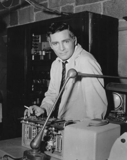 """David Hedison stars in """"The Fly"""" (1958)."""