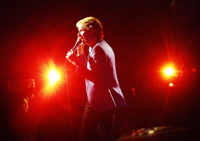 Beck performs at Ak-Chin Pavilion in Phoenix on July 21, 2019.