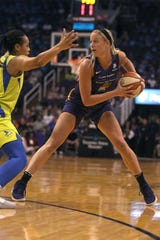 Mercury rookie Sophie Cunningham to get second start with Essence Carson injured