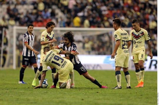 América y Monterrey se dieron con todo en la Fecha 1.