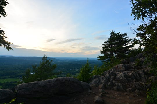 Savor the view from the top of the Stairway to Heaven Trail.
