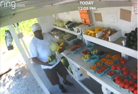 A recent post from Naylor's Fruit Stand on Facebook addresses recent alleged thefts and notes that the stand has surveillance cameras.