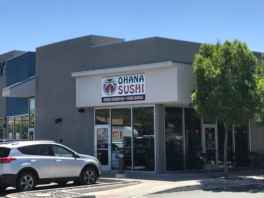 The new Ohana Sushi in Sparks also serves sushi burritos and poke bowls.