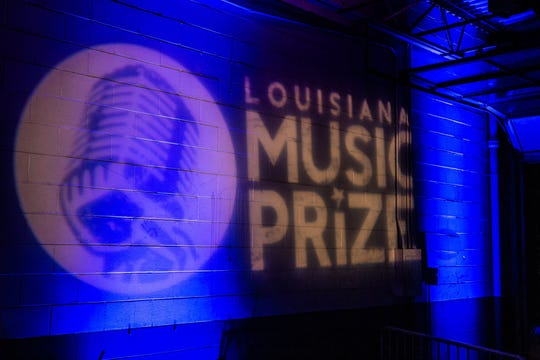 Louisiana Music Prize logo